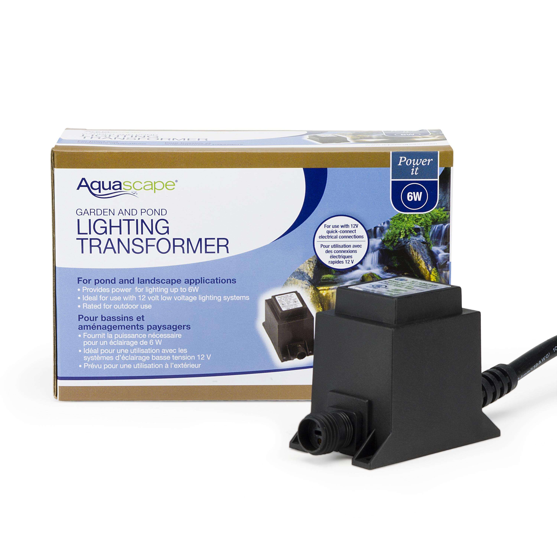 aquascape low voltage quick connect transformers