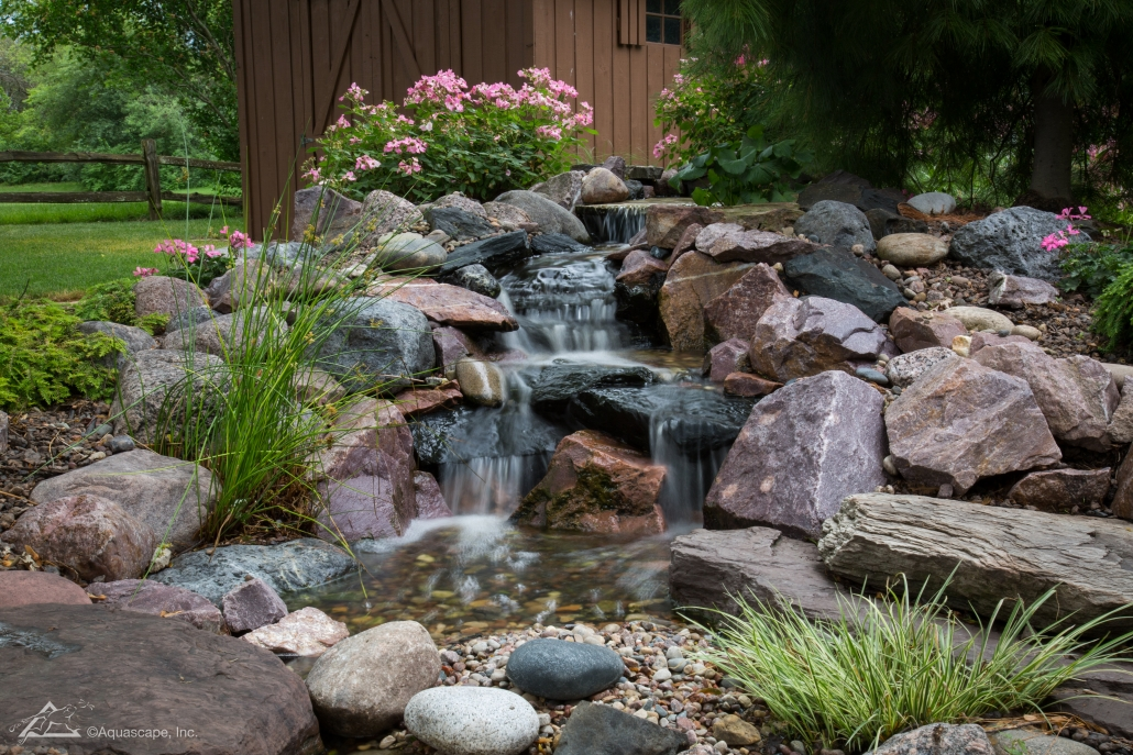 Pondless Waterfall Design & Construction Tips for Beginners on Rock Garden Waterfall Ideas  id=25001