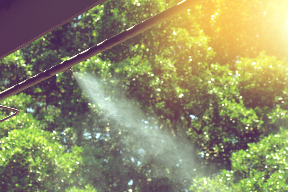 how to install a diy misting system for