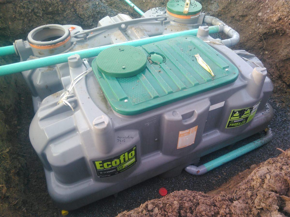 Pose Filtre Compact Ecoflo