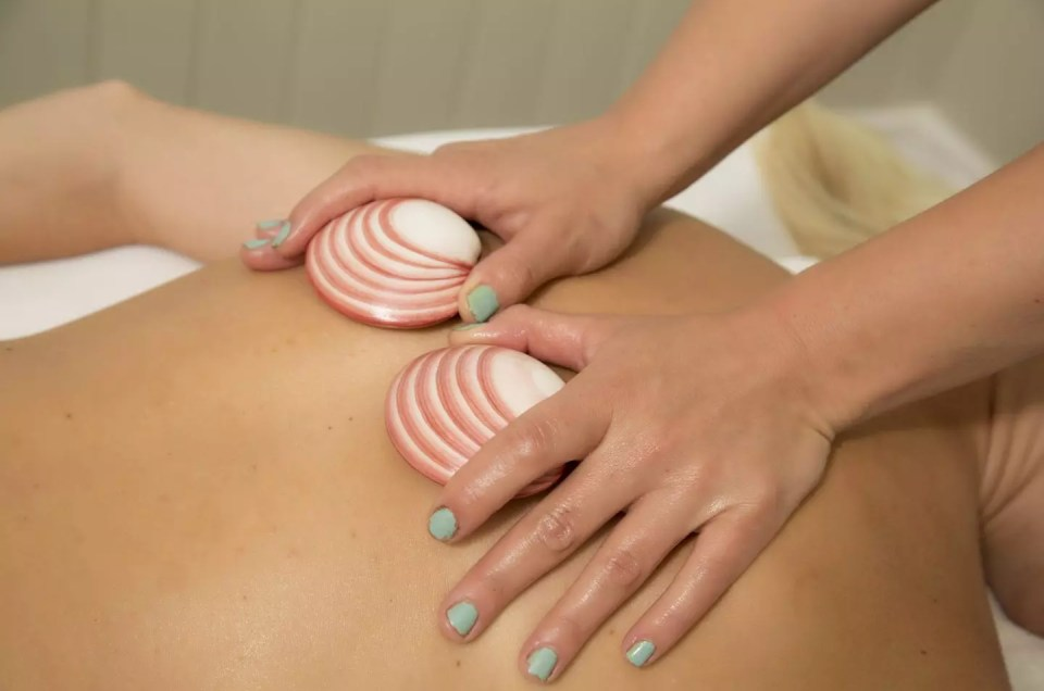 Hot Stone Therapeutic Massage