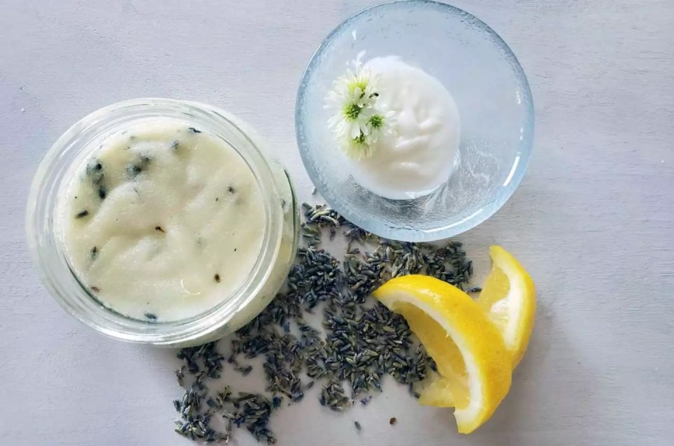 Lavender Lemon Body Scrub