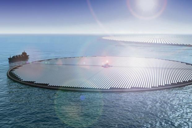 Japonia are cea mai mare centrală solară plutitoare!