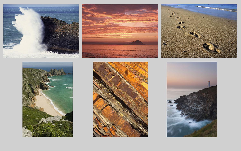 Cornwall multicard greetings cards pack