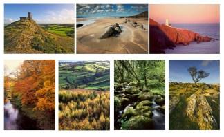 Devon Landscapes Multicard Greetings cards pack