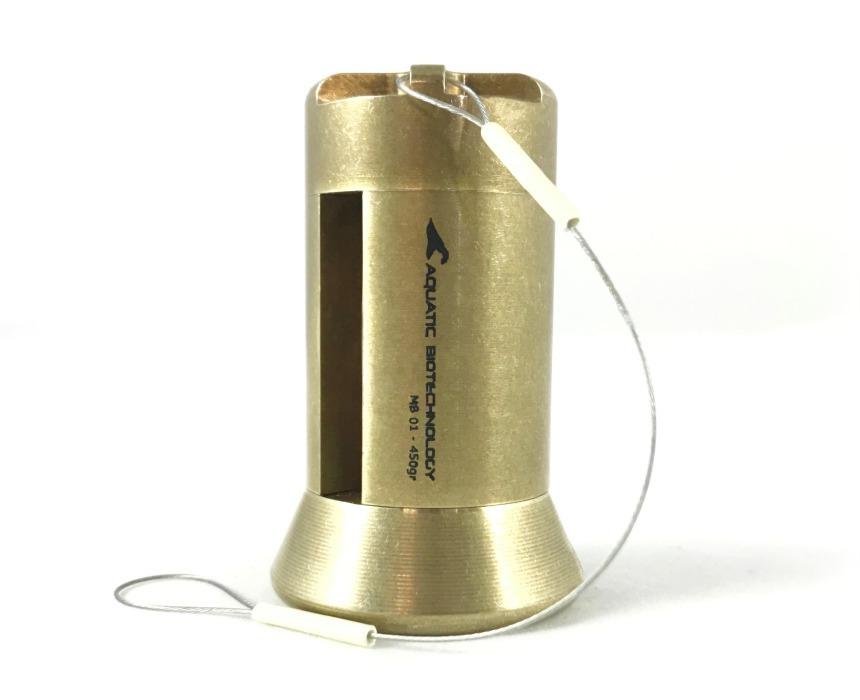 Mensajero de bronce MB, botellas oceanográficas