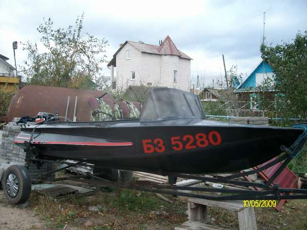 Моторная лодка Обь: характеристики, фото