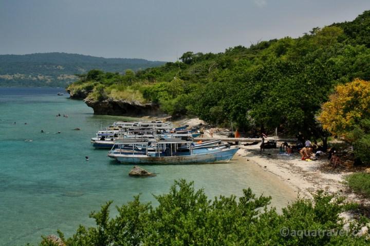 Memjangan jelení ostrov přístav