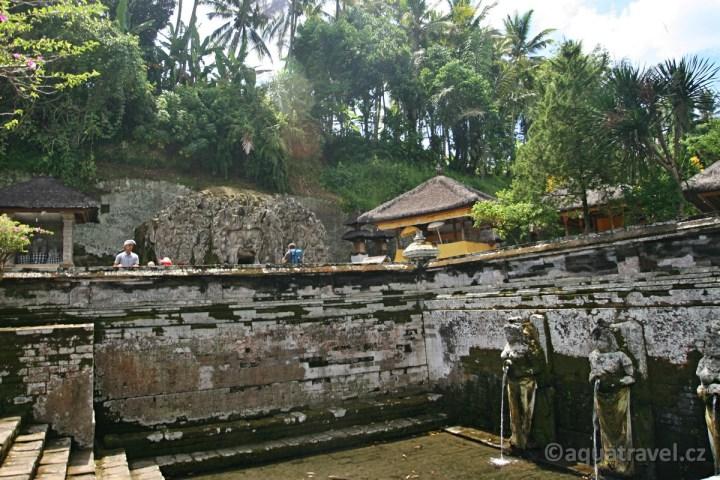 Goa Gajah sloní jeskyně