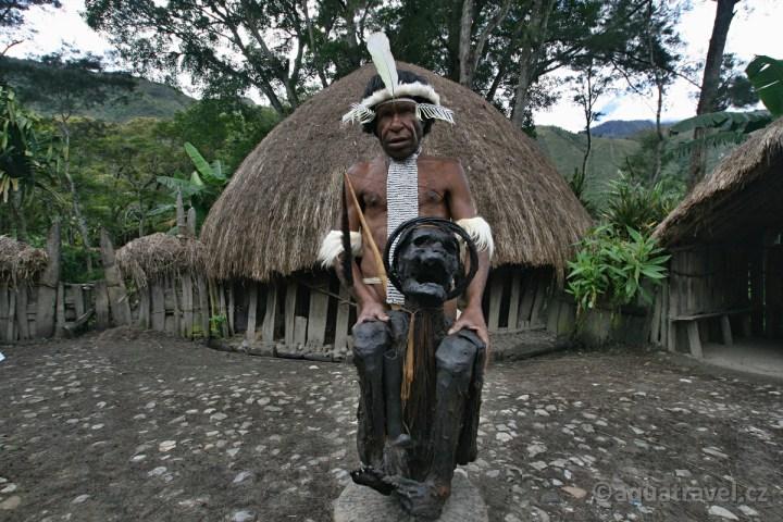 Mumie Jiwika Baliemské údolí Papua
