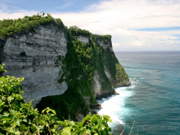 Uluwatu nejjižnější výběžek ostrova Bali