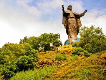 Socha Cristo Rei nad Dilí