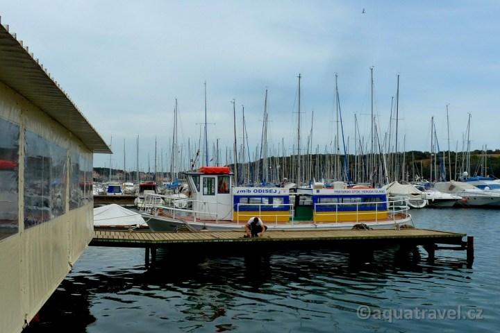 Odisej - loď která Vás doveze na ostrov Veruda