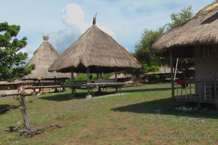 Hotel na ostrůvku Kepa