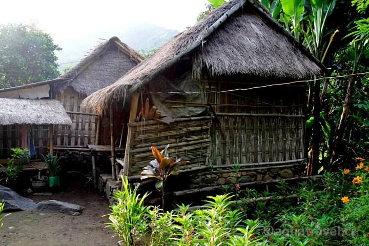 Bangle původní domky