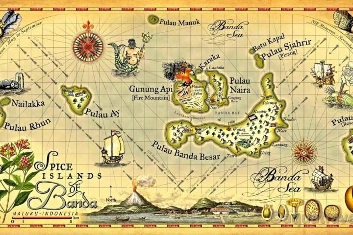 Historická mapa Bandy