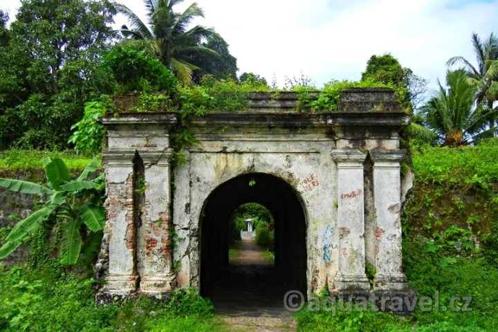 Pevnost Lonthair na Banda Besar