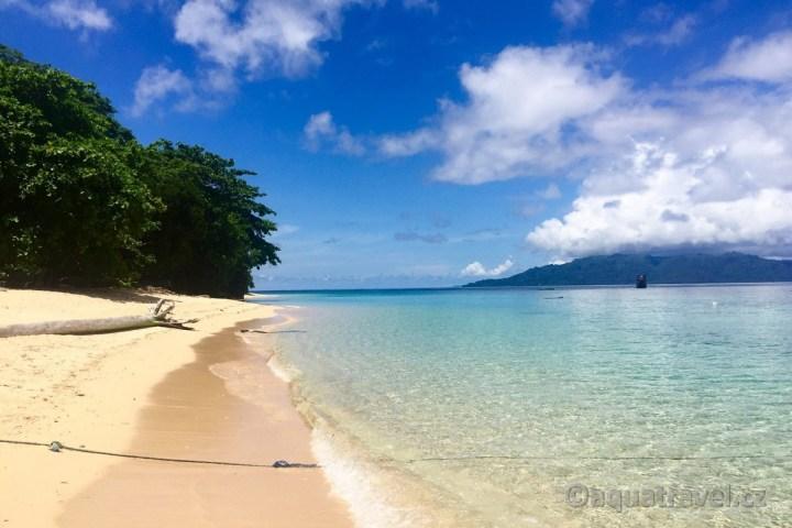 Pláž ostrova Hatta