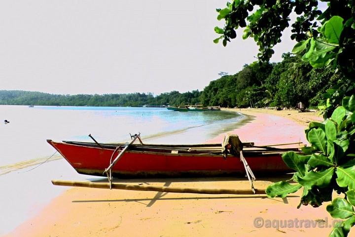 Pláž na Bunakenu