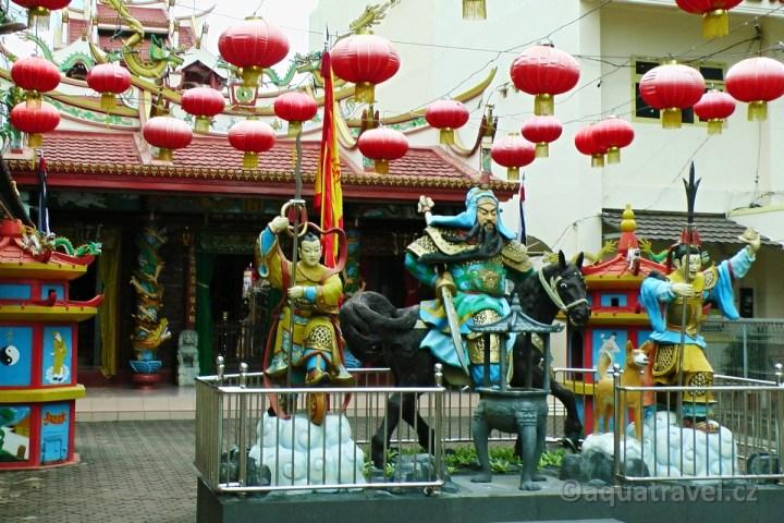 Čínský chrám v Manadu