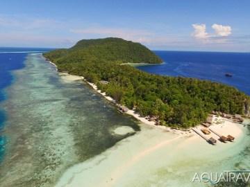 Exotický ráj Raja Ampat v Indonésii