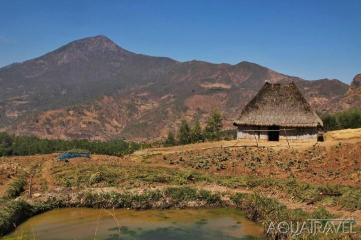 Ramelau, nejvyšší vrchol Východního Timoru