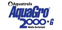 AquaGro 2000 G Media Surfactant Logo by Aquatrols