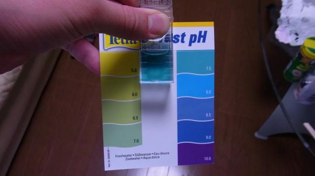 テトラpHテスト pH7.5付近