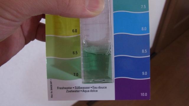 テトラpHテスト pH7.0付近