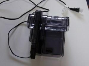 小型水槽におすすめ!外掛け式フィルター改造で濾過能力向上