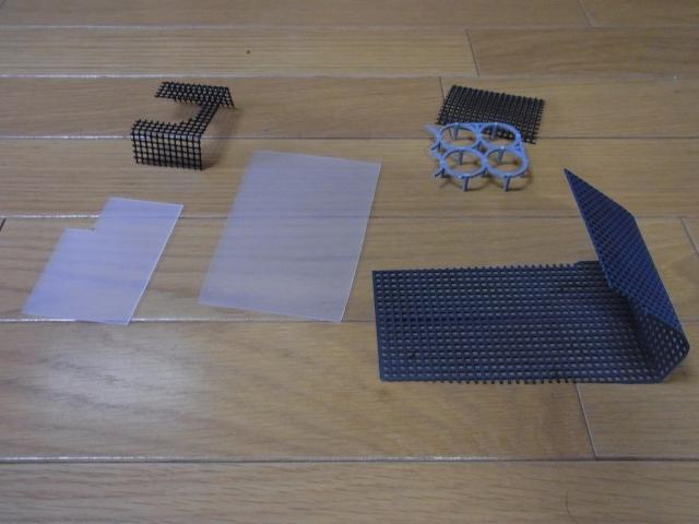 外掛け式フィルターを改造するために用意するもの