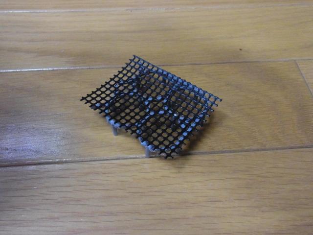 外掛けフィルター改造用のすのこを自作