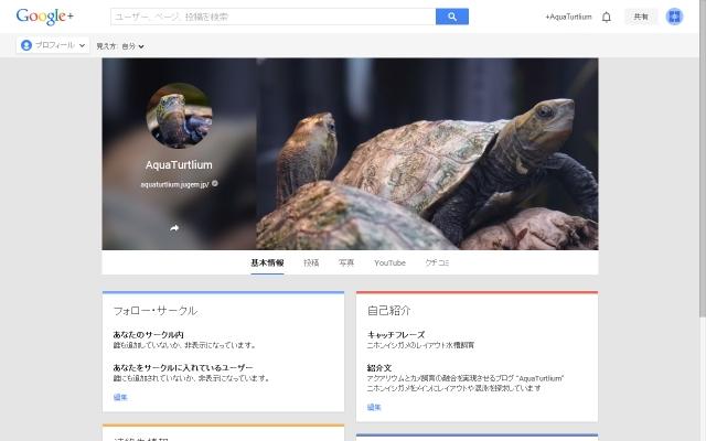 Google+ページ