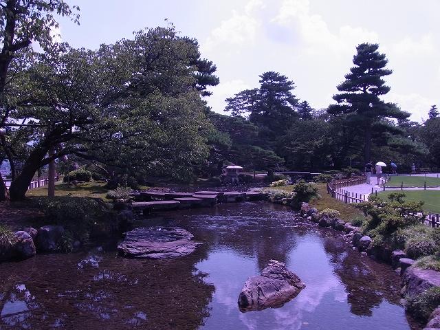 兼六園の亀甲橋