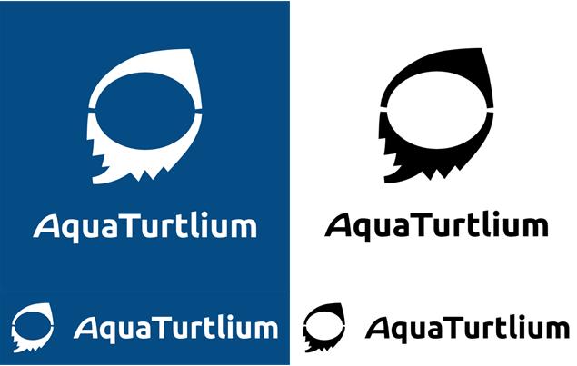 AquaTurtliumのロゴ カラーバリエーション