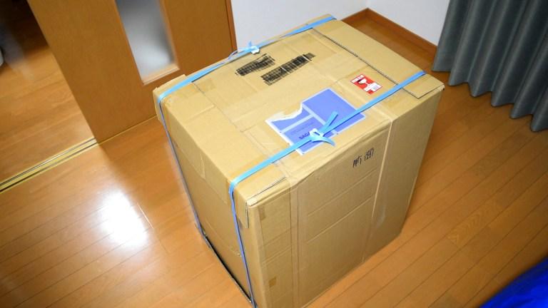 Cube a Stump(wood)の外装ダンボール