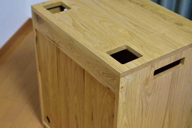 Cube a Stump(wood)の天板写真