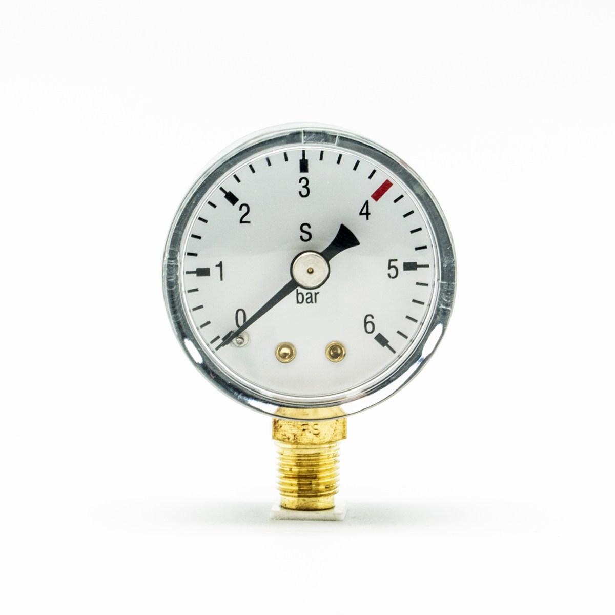 Arbeitsdruck Manometer