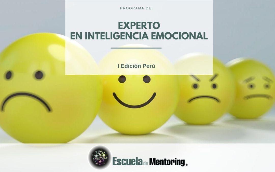 Programa Experto en Inteligencia Emocional. Comenzamos Mayo 2019 en Perú.