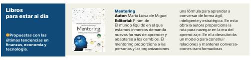 El Diario de Tarragona recomienda mi nuevo libro «Mentoring, un modelo de aprendizaje para la excelencia personal y organizacional»