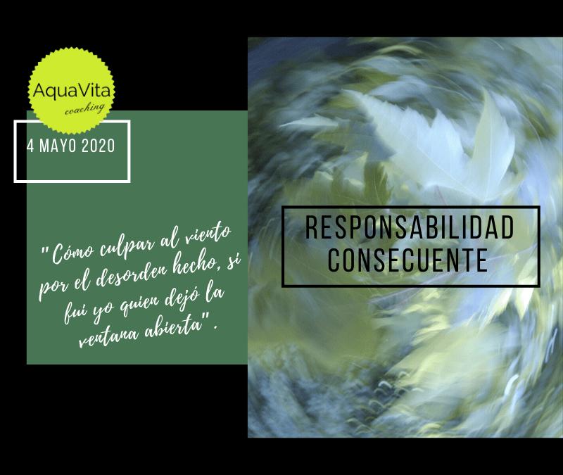 Postales desde el cielo… 4 Mayo 2020: Responsabilidad Consecuente