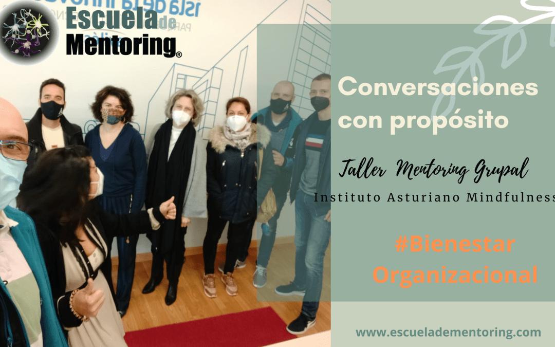 4 de Febrero desarrollamos Taller Mentoring Grupal con el Instituto Asturiano de Mindfulness