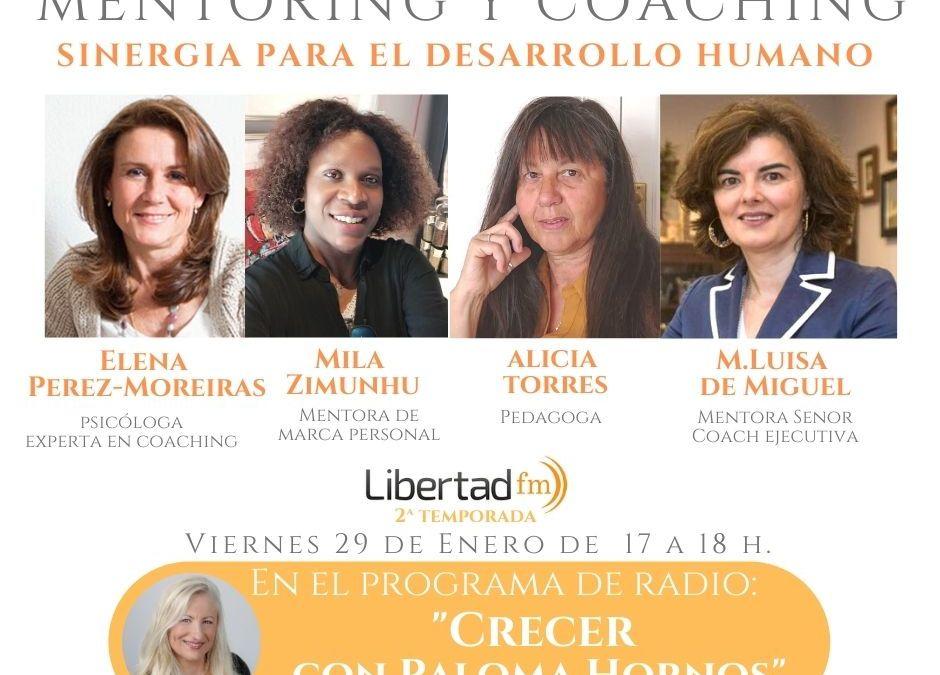 Entrevista sobre Mentoring y Coaching en Radio Libertad FM