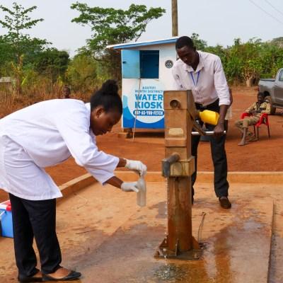 Water Samples Ghana