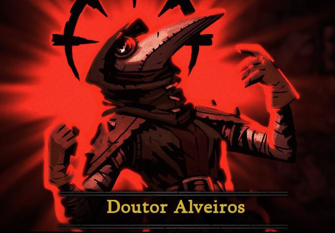 Do caso que lle aconteceu ao Doutor Alveiros en Darkest Dungeon