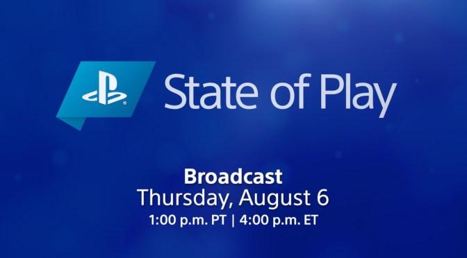 Sony transmitirá un State of Play centrado en PS4, PS y VR