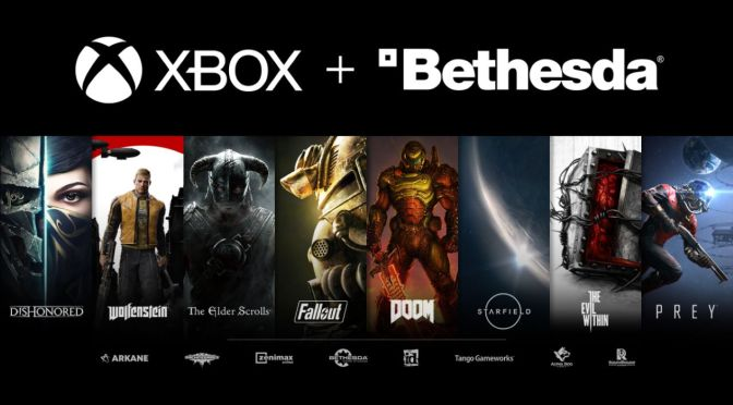 Microsoft compró ZeniMax Media, empresa matriz de Bethesda Softworks