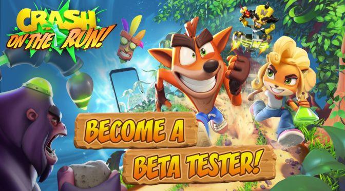 Crash Bandicoot ¡On the Run! busca usuarios de iOS para versión beta