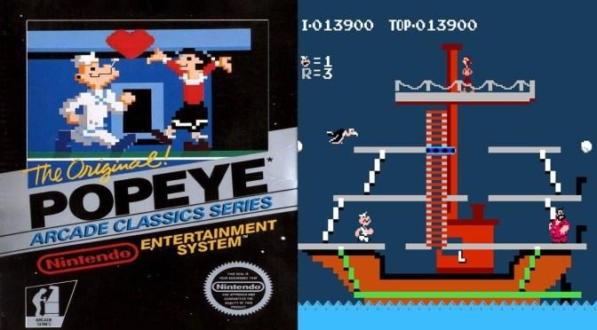 Retrogames: recordamos a Popeye