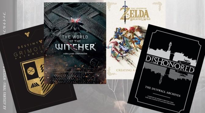 [Recomendados] 5 Libros ilustrados de videojuegos